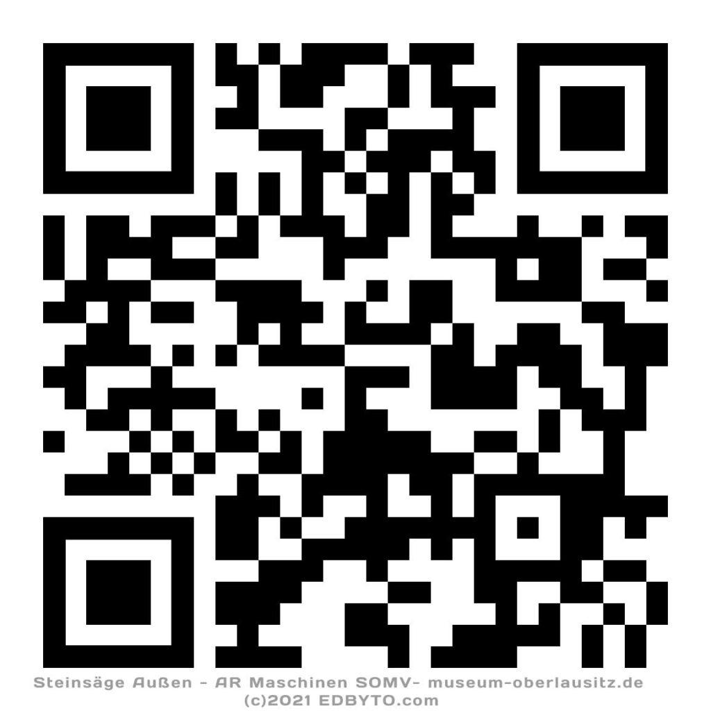 Steinsäge-Außen QR-Code